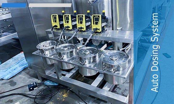 Auto Dosing System for gummy making machine