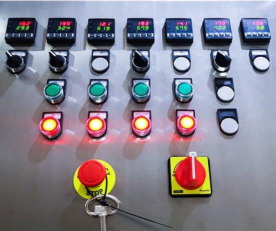 G150 control panel