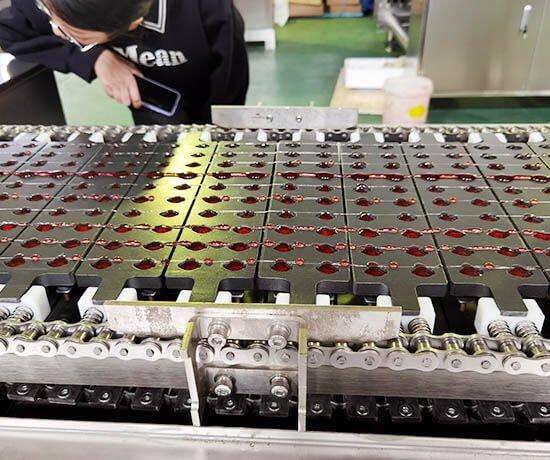 G80 gummy machine manufacturing