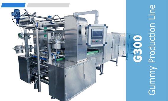 G300 Gummy Production Line-