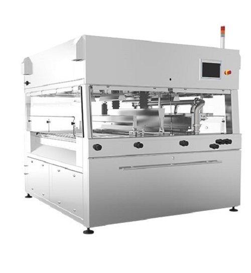 continous chocolate enrobing machine