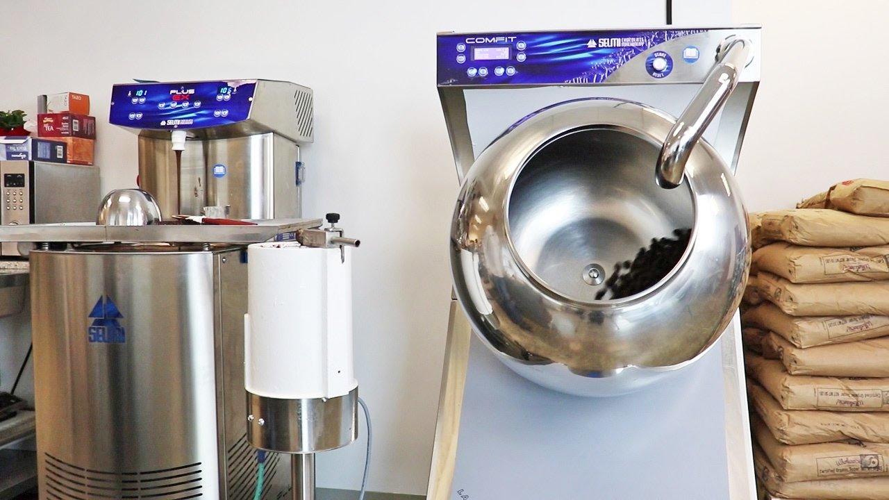 chocolate panning machine