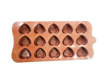 Silicon chocolate mold