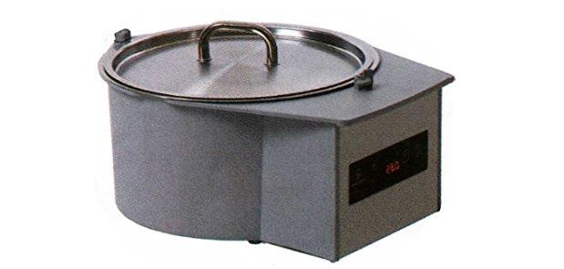 Round chocolate dipping machine