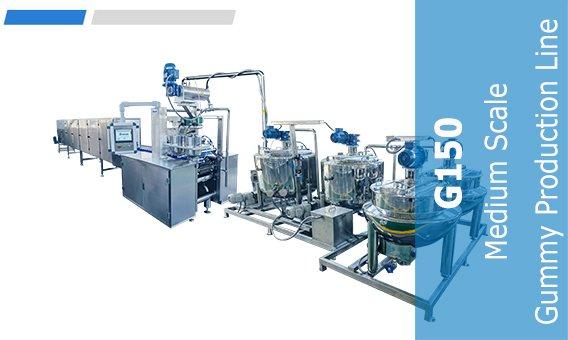 G150 Medium Scale Gummy Production Line-2