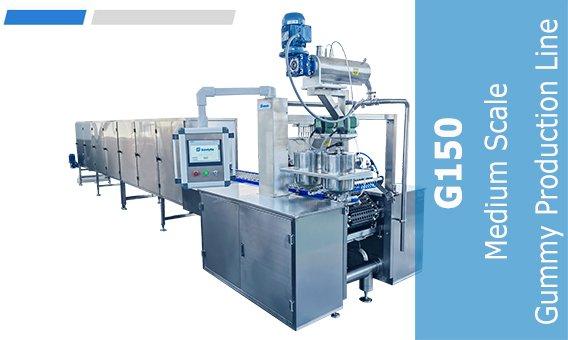 G150 Medium Scale Gummy Production Line