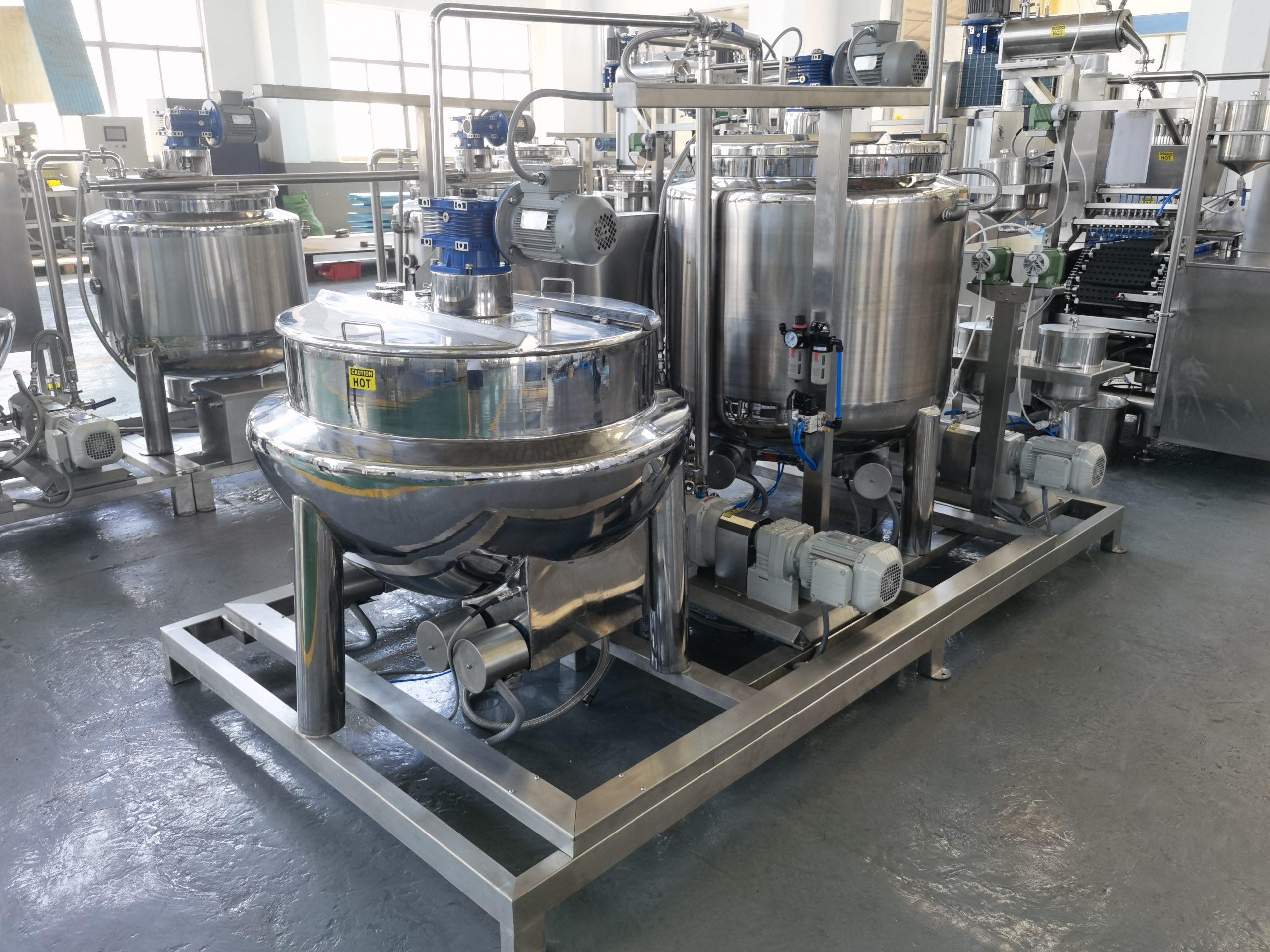 G80 Automatic Gummy Production Equipment details-