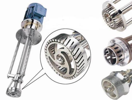 High shear mixer rotor