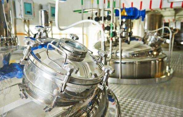Industrial high shear mixer