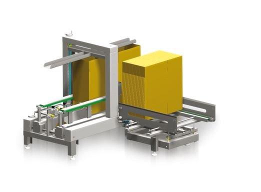 Automatic box folding machine