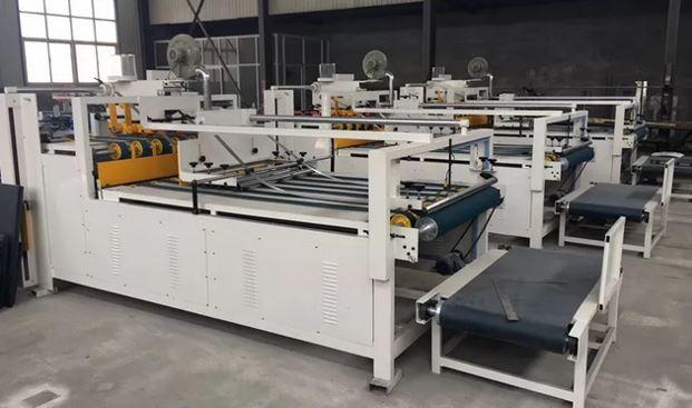Custom automatic box folding machine